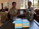 Distribusi Al-Quran 2012 ke PAY BJ Habibie