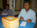 Distribusi Al-Quran 2012 ke Masjid Alif Ngawi