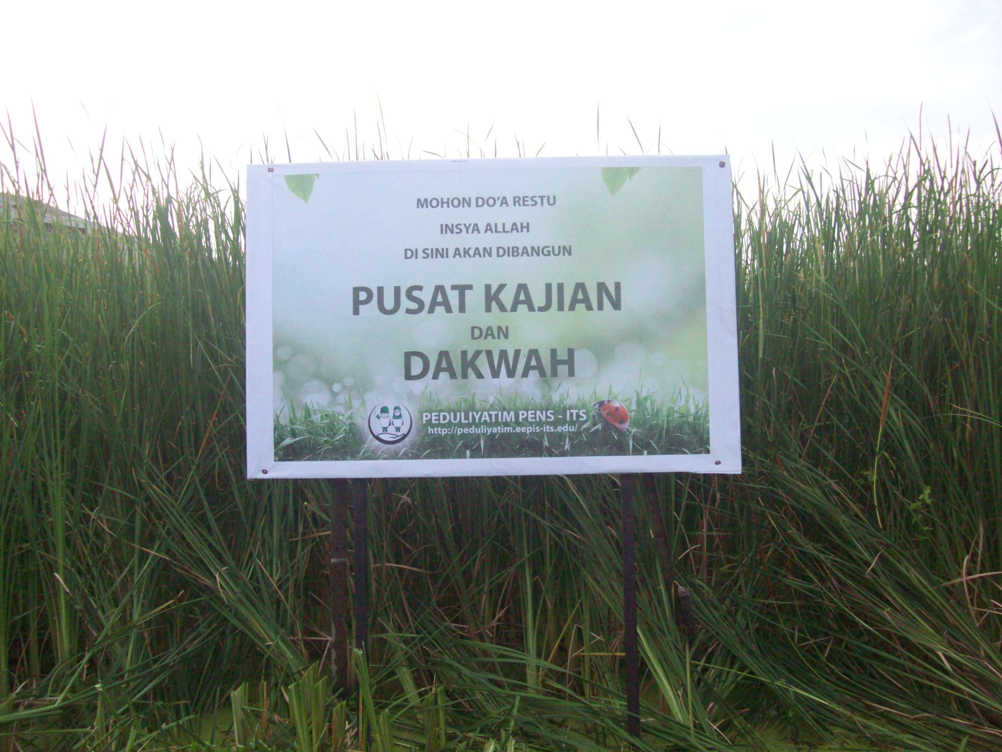 papan mohon do'a restu